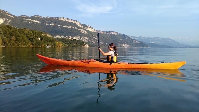 Break printanier sur le Lac duBourget