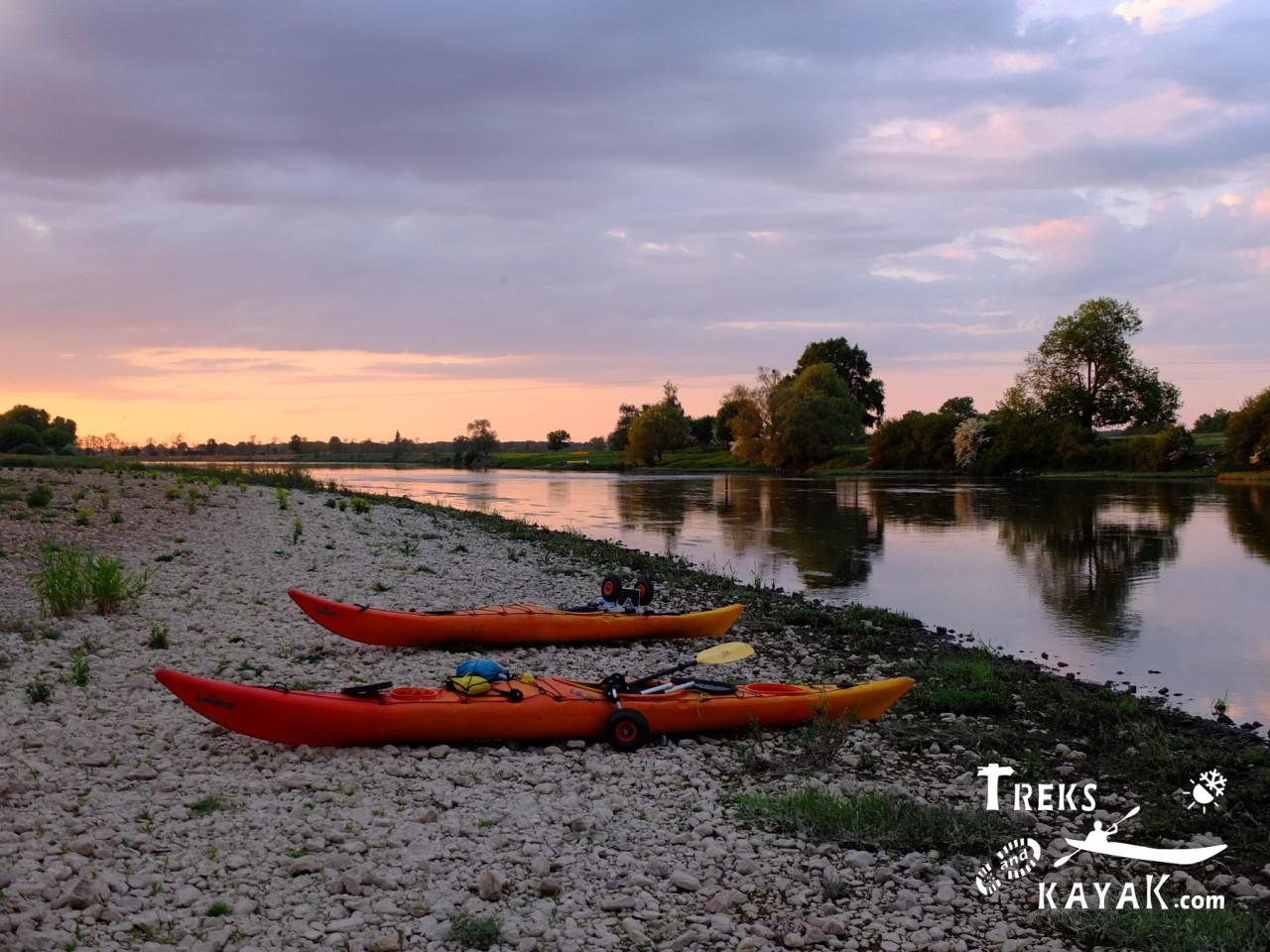 La Loire sauvage enkayak